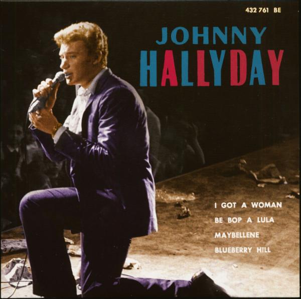 Johnny En Nueva York (7inch, EP, 45rpm, PS, SC, Purple Vinyl, Ltd.)