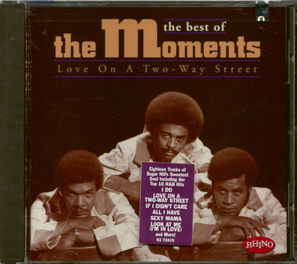 The Best Of The Moments - Love On A Two-Way Street (CD)