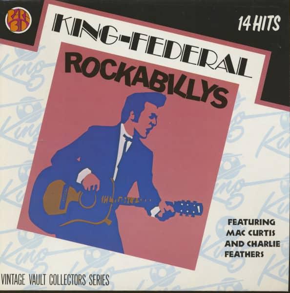King-Federal Rockabilly (German Pressing) (LP)