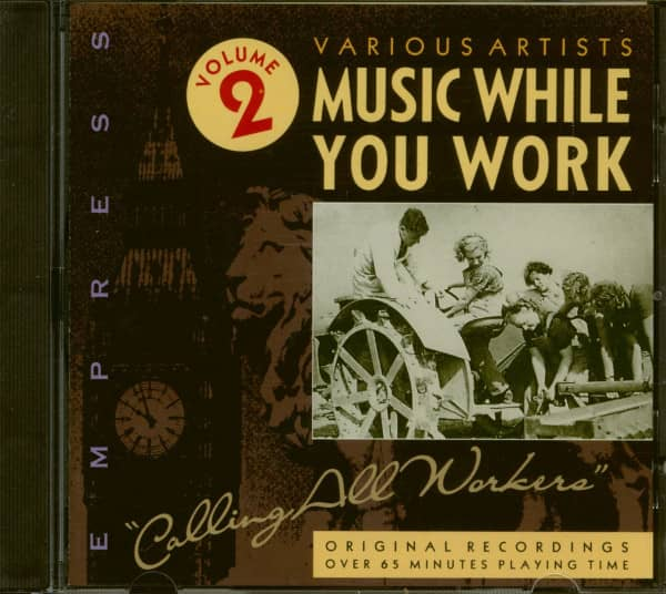 Music While You Work Vol.2 (CD)