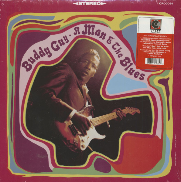 A Man And The Blues (LP, 180g Vinyl)