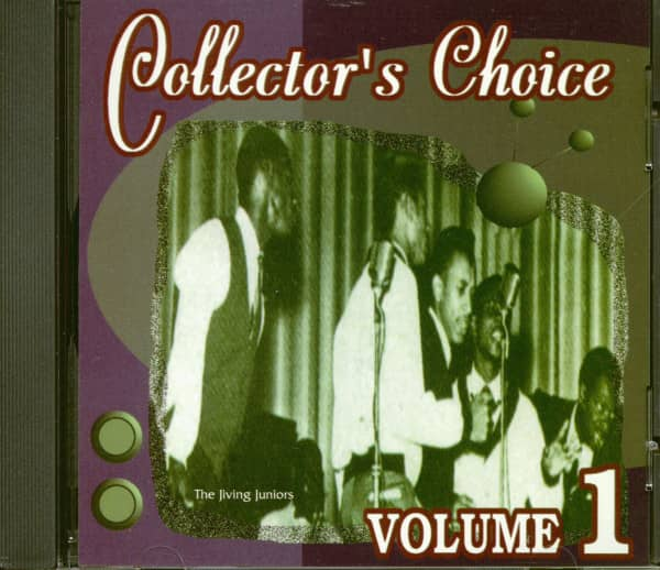 Collector's Choice Vol.1 - Rare Doo Wop And Groups (CD)