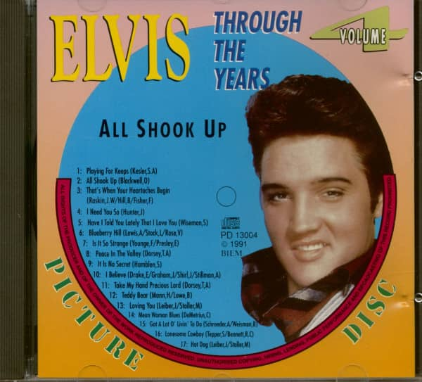 Through The Years Vol.4 - All Shook Up (CD)