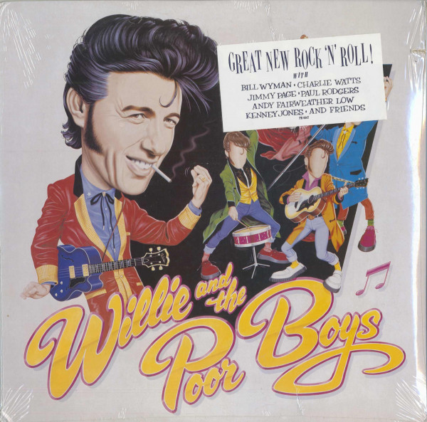 Willie And The Poor Boys (LP, Cut-Out)