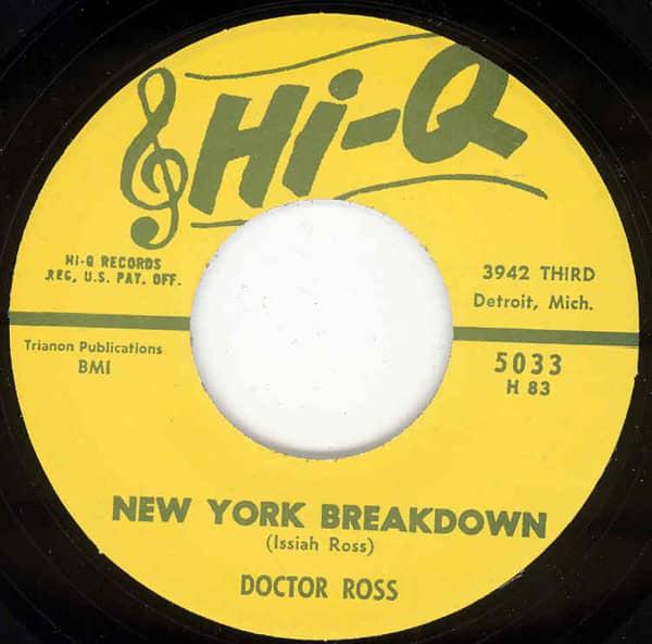New York Breakdown b-w Call The Doctor 7inch, 45rpm