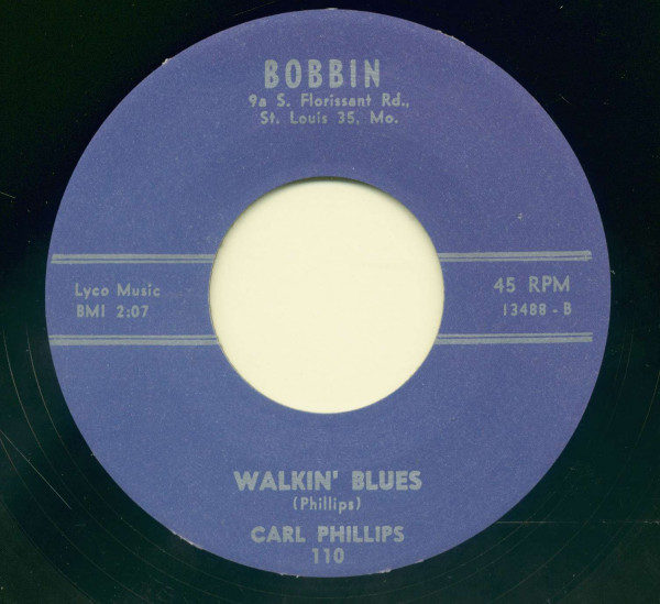 Wigwam Willie - Walkin' Blues (7inch, 45rpm)