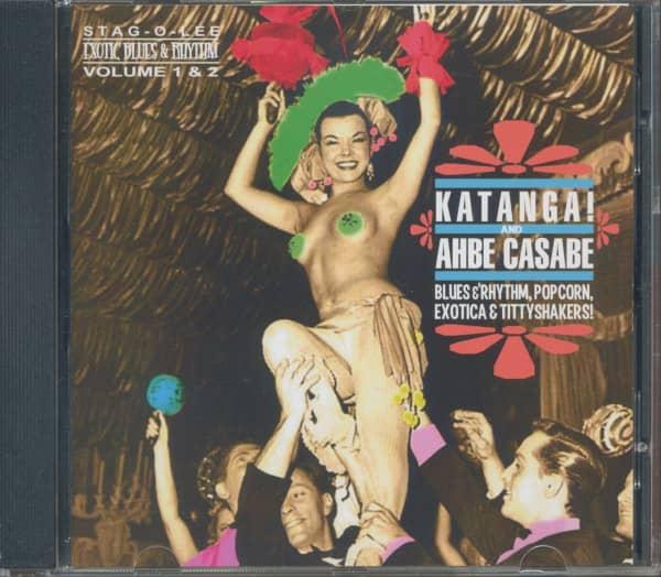 Katanga! & Ahbe Casabe - Exotic Blues & Rhythm Vol.1 & 2 (CD)