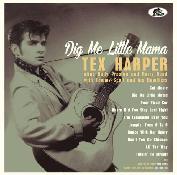 Dig Me Little Mama (LP, 10inch)