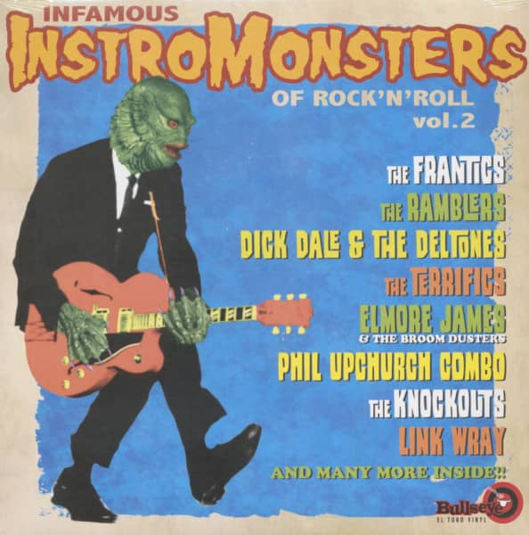 Infamous Instro Monsters Of Rock'n'Roll Vol.2 (LP)