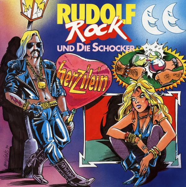 Herzilein - Rock Rudolf Rock 7inch, 45rpm - maxi, PS