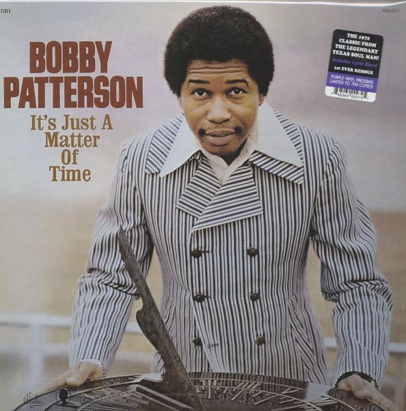 It's Just A Matter Of Time (LP, Purple Vinyl, Ltd.)
