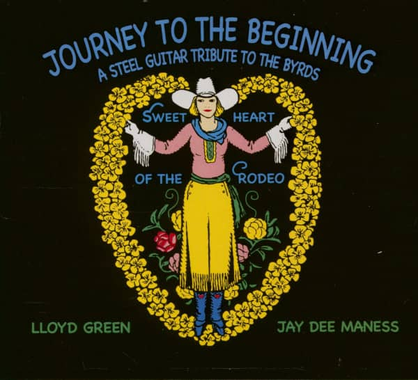 Journey To The Beginning - A Steel Guitar Tribute To The Byrds (CD)