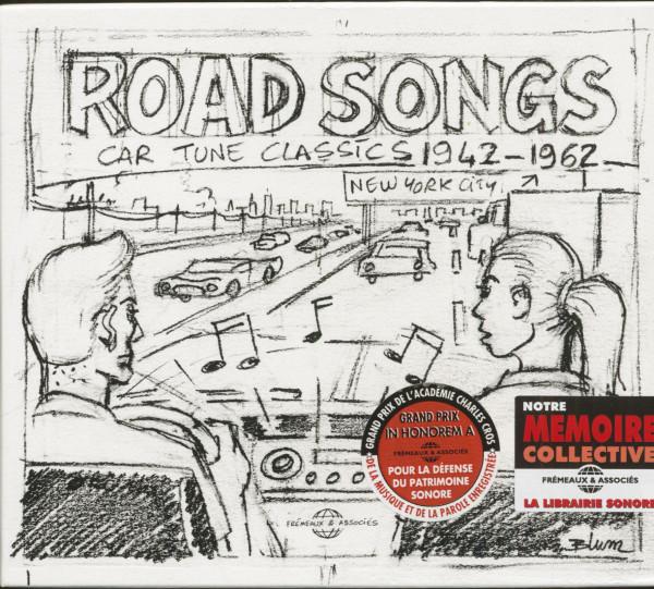 Road Songs - Car Tune Classics 1942-1962 (3-CD)