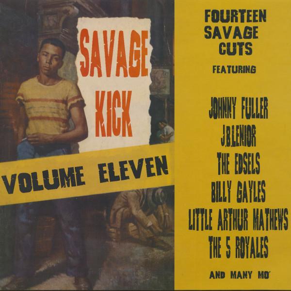 Savage Kick, Vol.11 (LP)