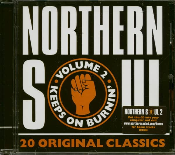 Northern Soul Vol.2 - 20 Original Classics (CD)