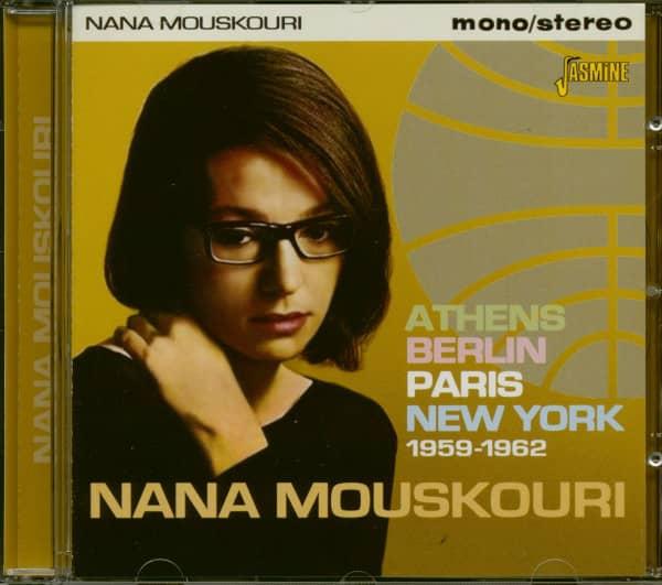 Athens, Berlin, Paris, New York 1959-1962 (CD)