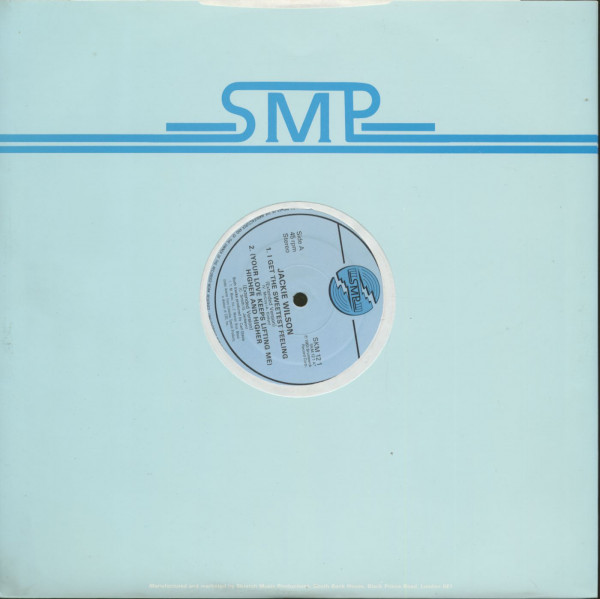 Jackie Wilson - SMP (EP, 12inch, 45rpm)