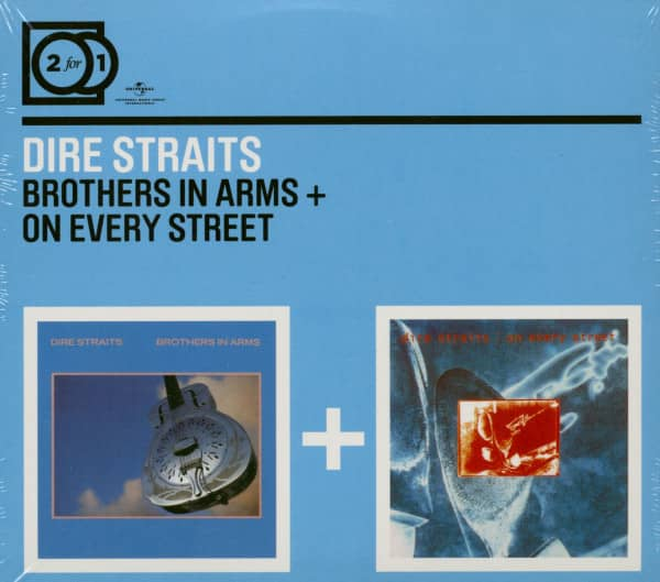 Brothers In Arms & On Every Street (CD)