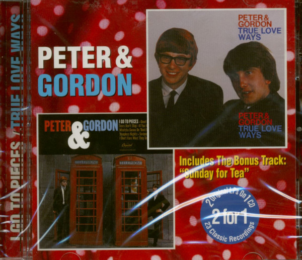 I Go To Pieces - True Love Ways (CD)