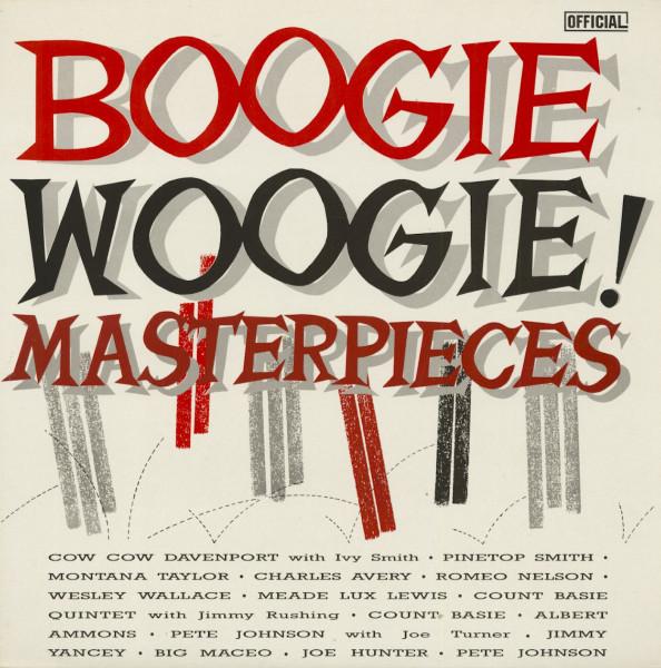 Boogie Woogie Masterpieces (LP)