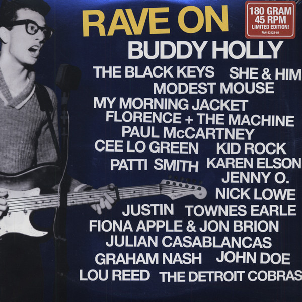 Rave On Buddy Holly (2-LP180g 45RPM) Limited
