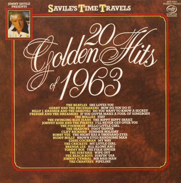 Jimmy Savile Presents - 20 Golden Hits Of 1963 (LP)