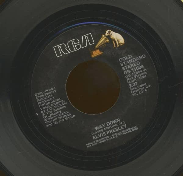 Way Down - My Way (7inch, 45rpm)