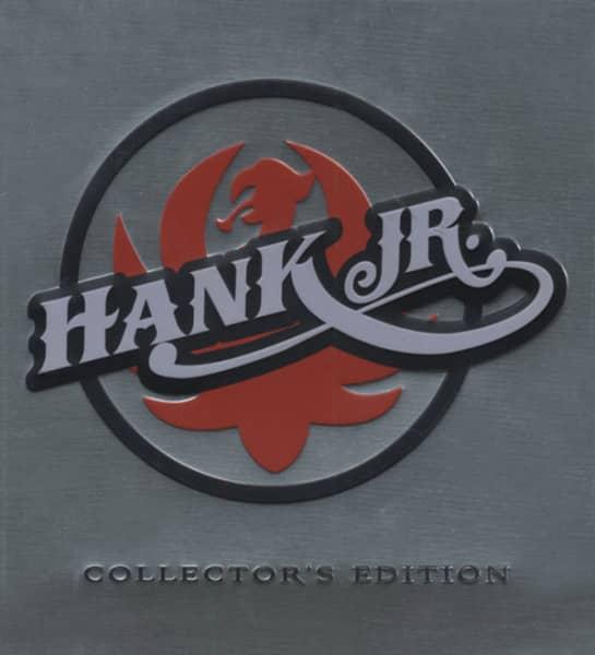 3fd40dd4d081e0 Hank Williams Jr CD  Collector s Steelbox Edition (3-CD) - Bear ...