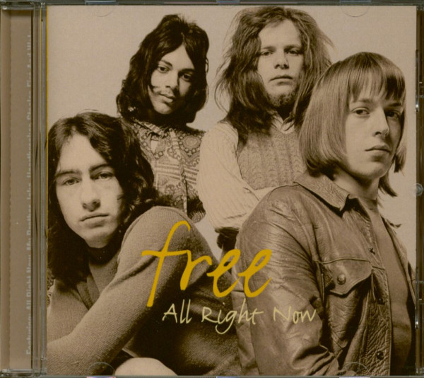 All Right Now - Best (CD)