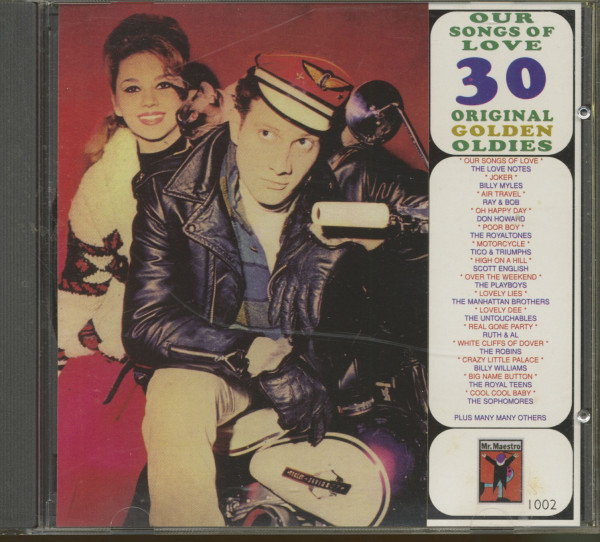 Our Songs Of Love - 30 Original Golden Oldies (CD)