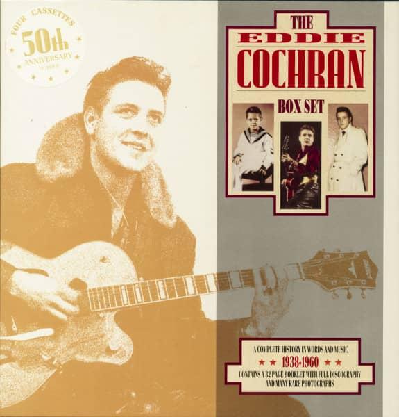 The Eddie Cochran Box Set (4-MC)