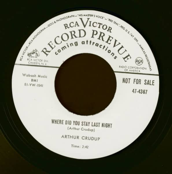 Where Did You Stay Last Night - Keep On Drinkin' (7inch, 45rpm)