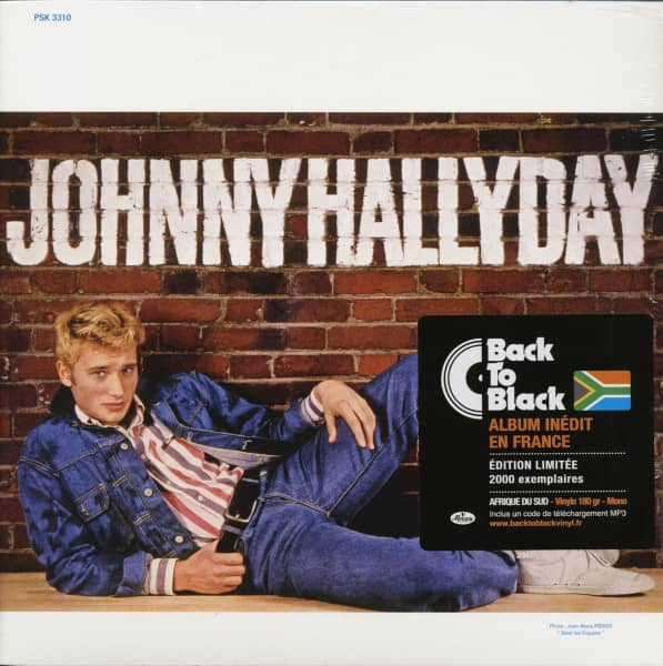 Johnny Hallyday (LP & Download, 180g Vinyl, Ltd.)
