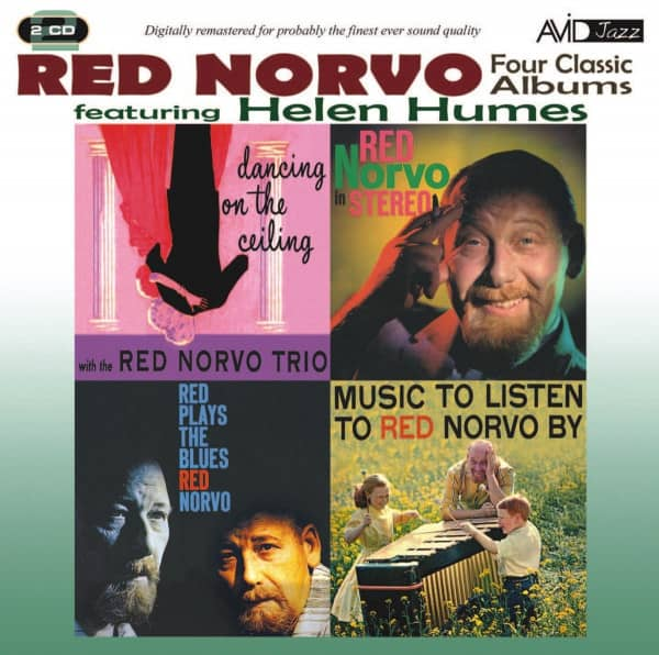 Four Classic Albums: Dancing On The Ceiling&In Stereo&Plays The Blues&Music To Listen To Red Norvo By (2-CD)