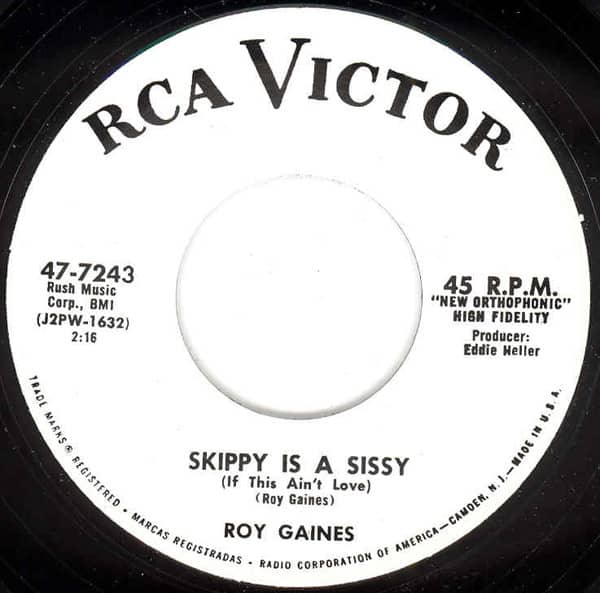 Skippy Is A Sissy b-w Native 7inch, 45rpm