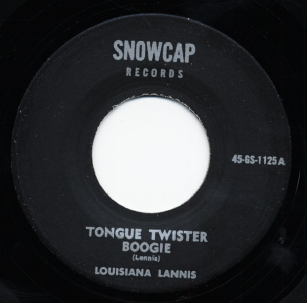 Tongue Twister Boogie b-w Walking Out 7inch, 45rpm