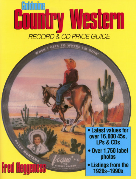Heggeness, Fred - Goldmine Country Western Record & CD Price Guide