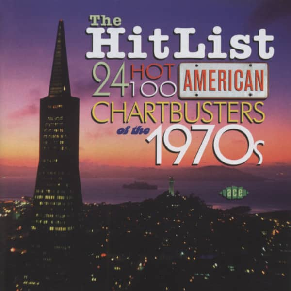 The Hit List: 24 Hot 100 American Chart Busters of the 70s (CD)