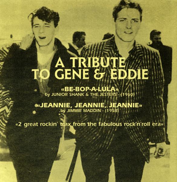 Tribute To Gene & Eddie 7inch, 45rpm