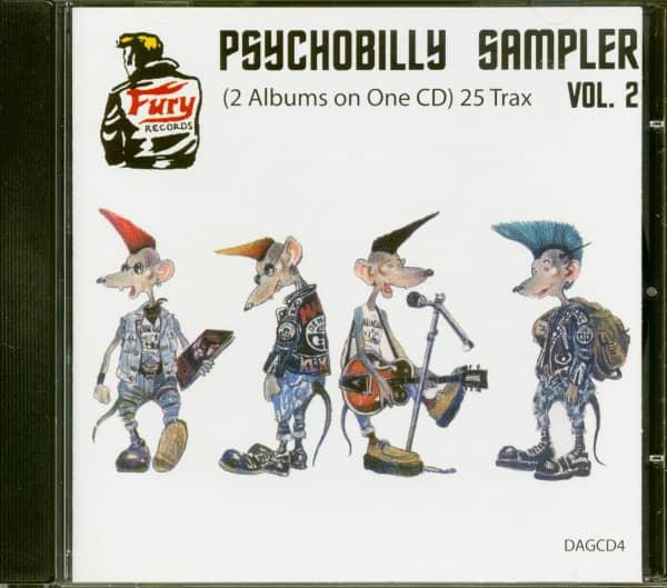 Psychobilly Sampler Vol.2 (CD)