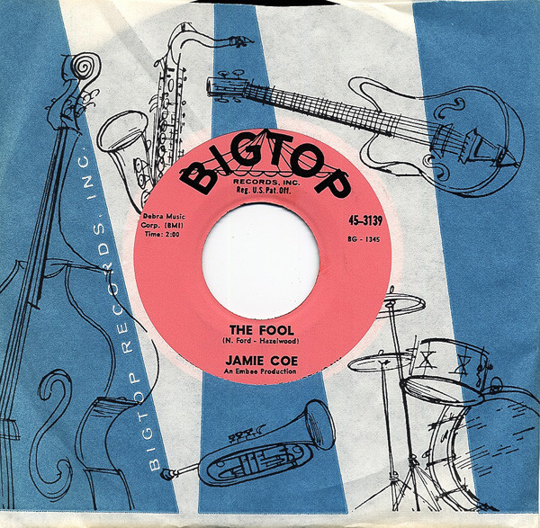 The Fool - I've Got That Feeling Again 7inch, 45rpm, CS
