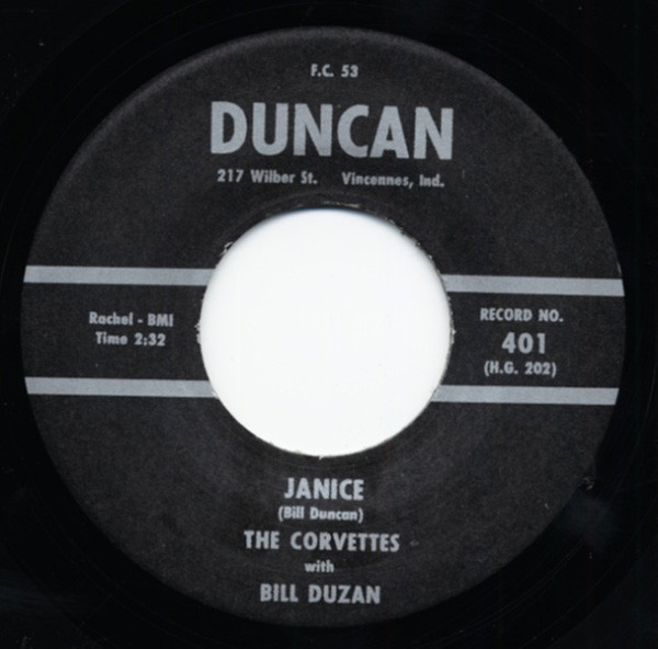 Janice - Shaften 7inch, 45rpm