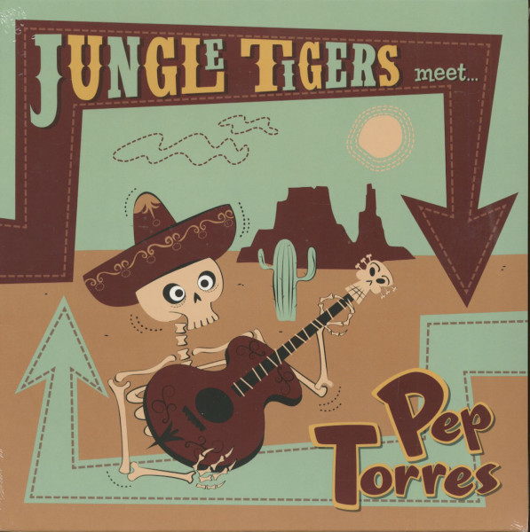 The Jungle Tigers Meet Pep Torres (LP, 10inch)