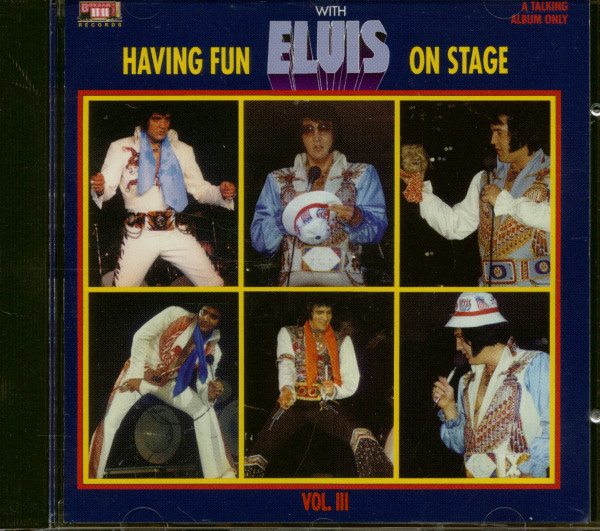 Having Fun With Elvis On Stage Vol.3 (CD)