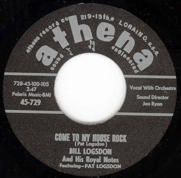 Come To My House Rock b-w Spitfire 7inch, 45rpm