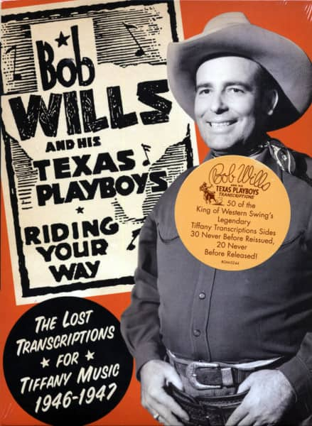 Riding Your Way - The Lost Transcriptions For Tiffany Music (2-CD)
