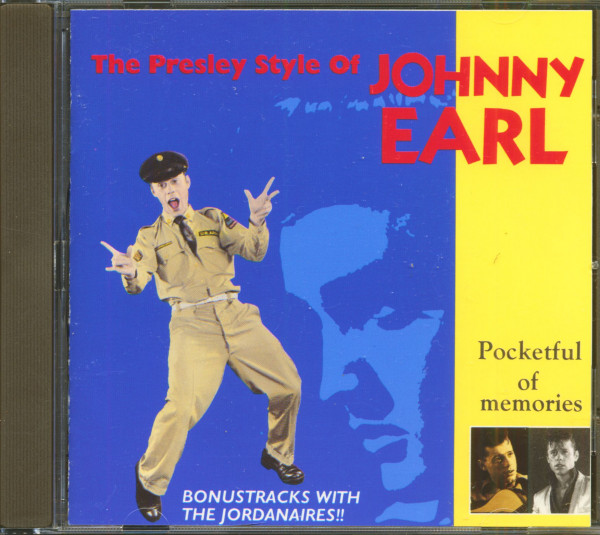 The Presley Style Of Johnny Earl (CD)