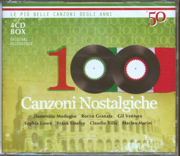 100 Canzoni Nostalgiche 1950s (4-CD)