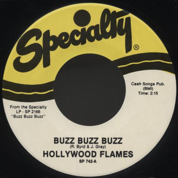 Buzz Buzz Buzz - Crazy 7inch, 45rpm