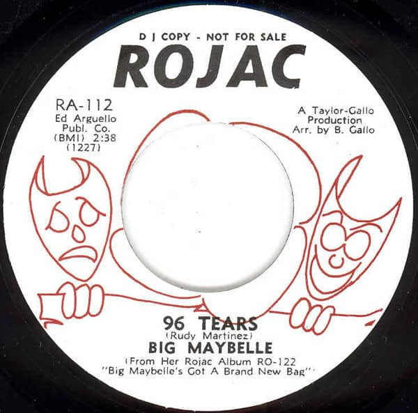96 Tears - That's Life 7inch, 45rpm